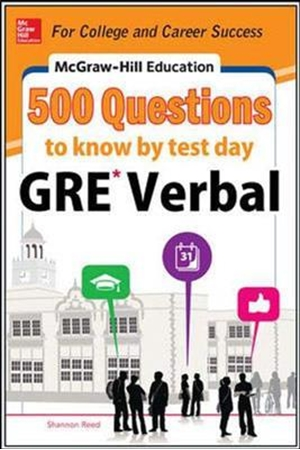 Resim McGraw-Hill Education 500 Gre Verbal Question