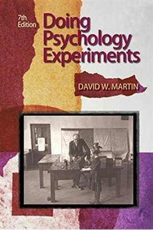Resim Doing Psychology Experiments