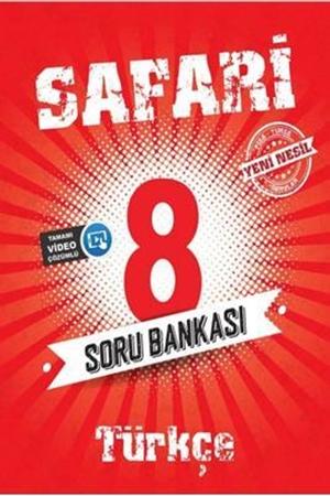 Resim 8. Sınıf LGS Türkçe Safari Soru Bankası
