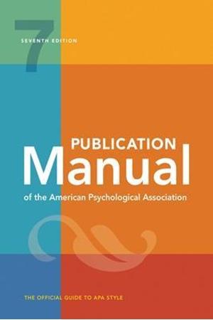 Resim Publication Manual of The American Psychological Association 7e