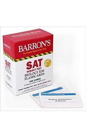 Resim SAT Subject Test Biology E/M Flashcards