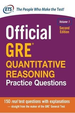 Resim Official GRE Quantitative Reasoning Practice Questions 2e