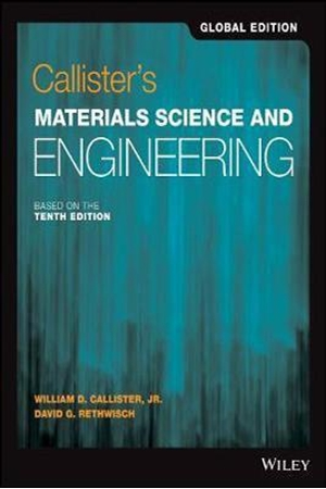 Resim Callister's Materials Science and Engineering 10e