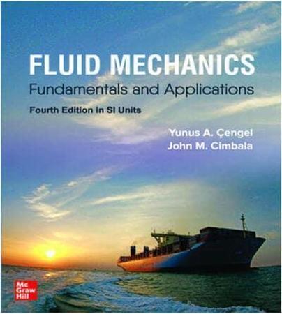Resim Connect Online Access For Cengel Fluid Mechanics 4e