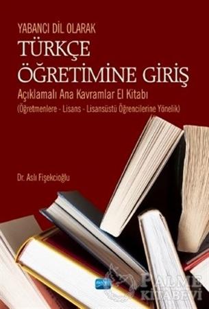 Resim Yabancı Dil Olarak Türkçe Öğretimine Giriş