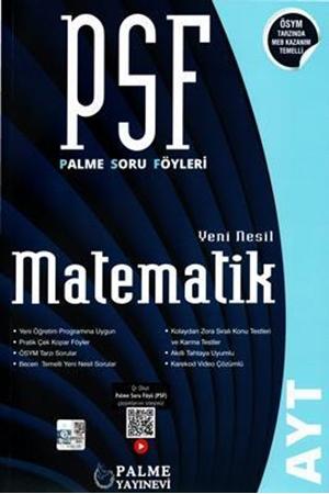 Resim AYT Matematik PSF Yeni Nesil Soru Föyleri