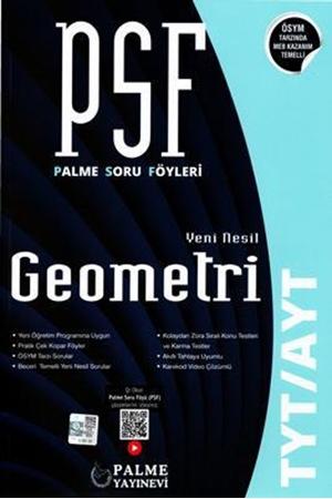 Resim TYT - AYT Geometri PSF Yeni Nesil Soru Föyleri