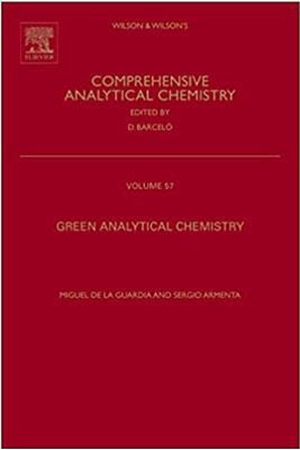 Resim Green Analytical Chemistry: Volume 57 : Theory and Practice