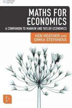 Resim Maths for Economics: A Companion to Mankiw and Taylor Economics 4e