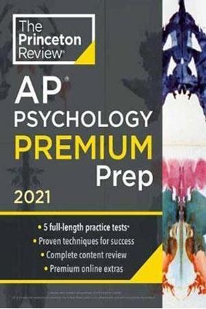 Resim Princeton Review AP Psychology Premium Prep 2021