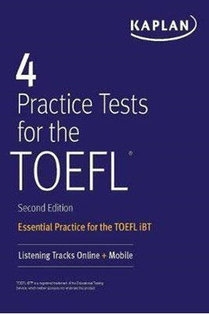 Resim 4 Practice Tests for the TOEFL : Essential Practice for the TOEFL iBT