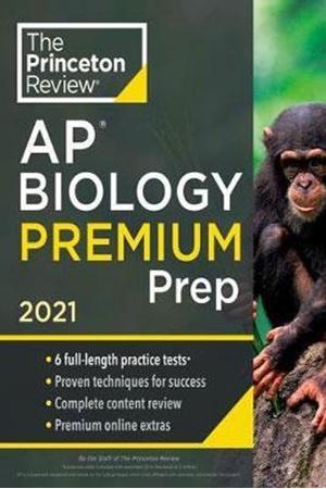 Resim Princeton Review AP Biology Premium Prep 2021