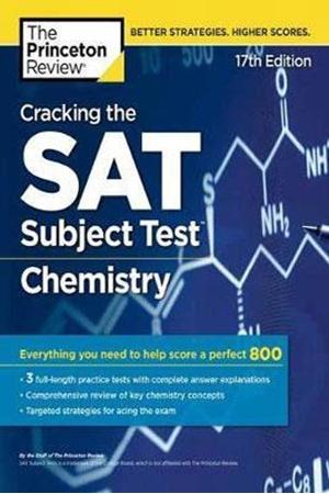 Resim Cracking the SAT Subject Test in Chemistry 17e