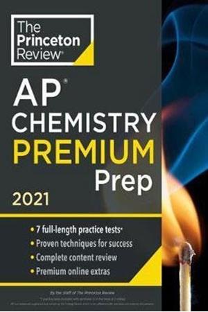 Resim Princeton Review AP Chemistry Premium Prep 2021