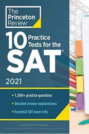 Resim 10 Practice Tests for the SAT 2021