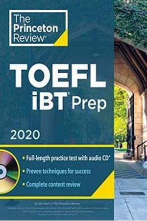 Resim Princeton Review TOEFL iBT Prep with Audio CD 2020