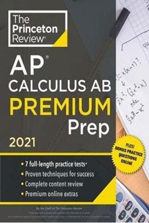 Resim Princeton Review AP Calculus AB Premium Prep 2021