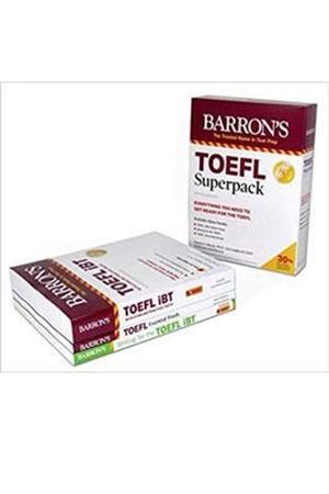 Resim TOEFL Superpack: 3 Books + Practice Tests + Audio Online 5e