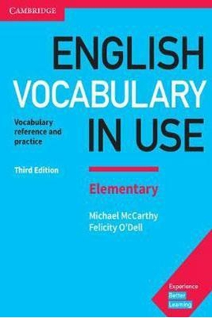 Resim English Vocabulary in Use Elementary Book with Answers 3e