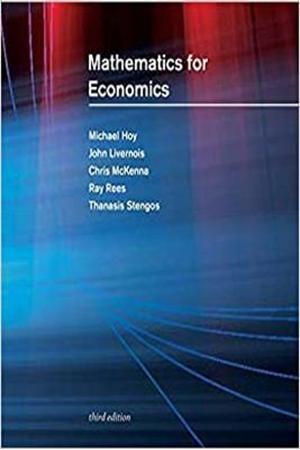 Resim Mathematics for Economics 3e