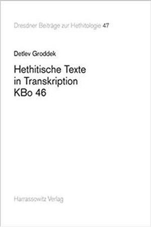 Resim Hethitische Texte in Transkription Kbo 46