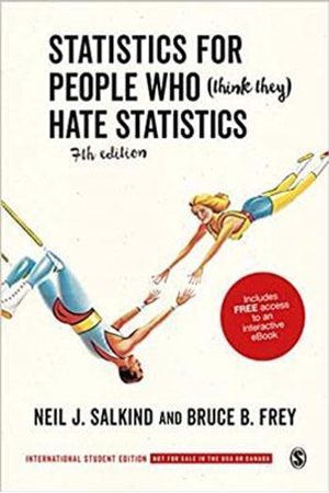 Resim Statistics for People Who Think They Hate Statistics 7e