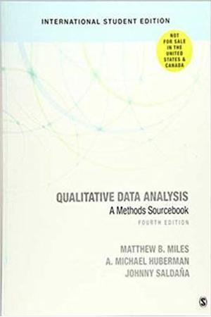 Resim Qualitative Data Analysis A Methods Sourcebook 4e