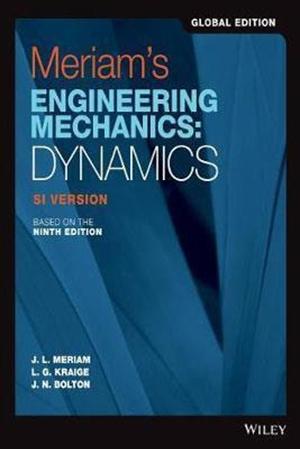 Resim Meriam's Engineering Mechanics 9e