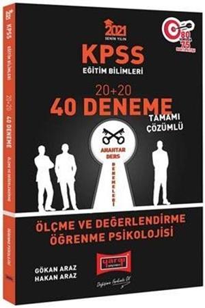 Resim 2021 KPSS Eğitim Bilimleri Ölçme ve Değerlendirme, Öğrenme Psikolojisi Tamamı Çözümlü 40 Deneme