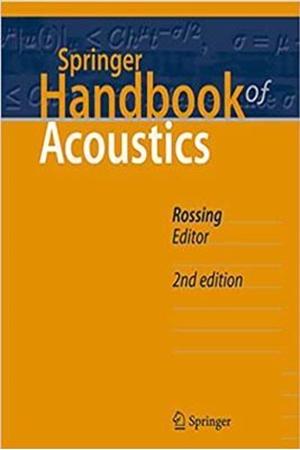 Resim Springer Handbook of Acoustics 2e