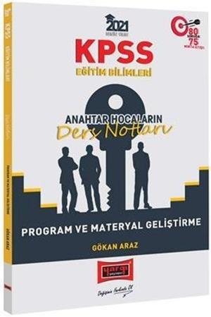 Resim 2021 KPSS Eğitim Bilimleri Program ve Materyal Geliştirme Anahtar Hocaların Ders Notları