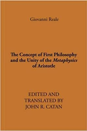 Resim The Concept of First Philosophy and the Unity of the Metaphysics of Aristotle