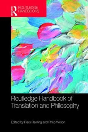 Resim The Routledge Handbook of Translation and Philosophy