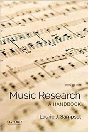 Resim Music Research A Handbook 3e