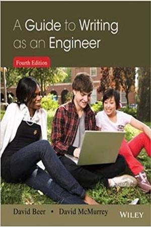 Resim A Guide to Writing as an Engineer 4e