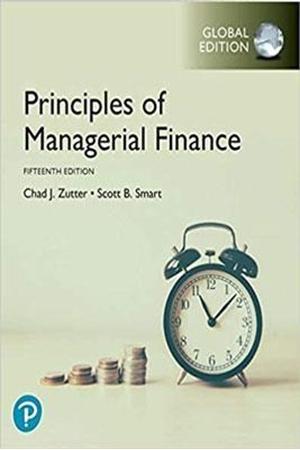 Resim Principles of Managerial Finance 15e