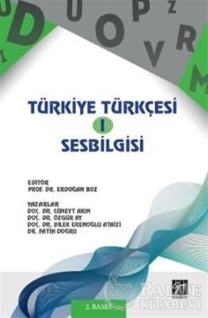 Resim Türkiye Türkçesi 1 - Ses Bilgisi