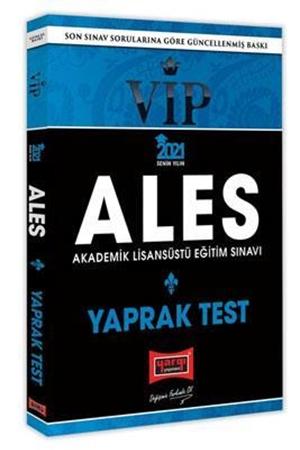 Resim 2021 ALES VIP Yaprak Test