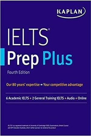 Resim IELTS Prep Plus : 6 Academic IELTS + 2 General IELTS + Audio + Online