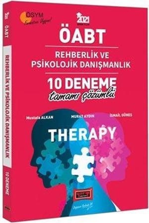 Resim 2021 ÖABT Therapy Rehberlik ve Psikolojik Danışmanlık Tamamı Çözümlü 10 Deneme