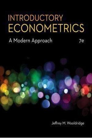 Resim Introductory Econometrics 7e