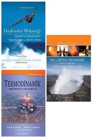 Resim Akışkanlar Mekaniği + Termodinamik + Isı ve Kütle Transferi 3'lü Set