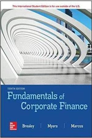 Resim Fundamentals of Corporate Finance 10e