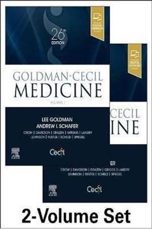 Resim Goldman-Cecil Medicine 2 Volume Set 26e