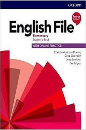 Resim English File Elementary Student's Book with Online Practice 4e