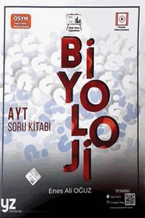 Resim YKS AYT Biyoloji Soru Kitabı