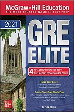Resim McGraw-Hill Education GRE Elite 2021 - 7e