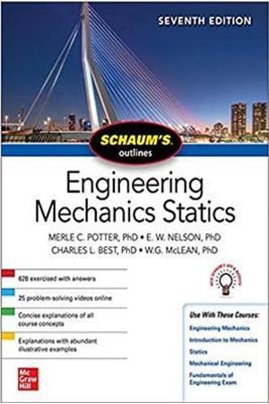 Resim Schaum's Outline of Engineering Mechanics Statics 7e