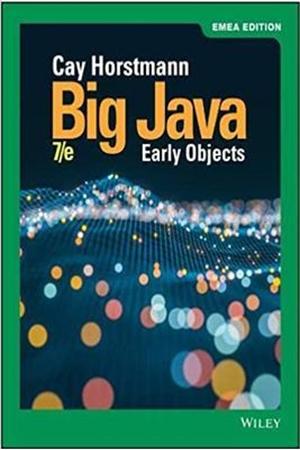 Resim Big Java Early Objects 7e