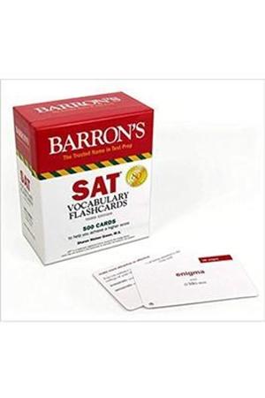 Resim Barron's SAT Vocabulary Flashcards 3e